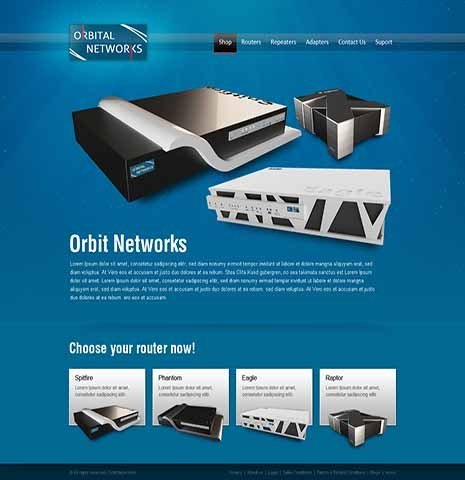 Orbital Network Products Catalog