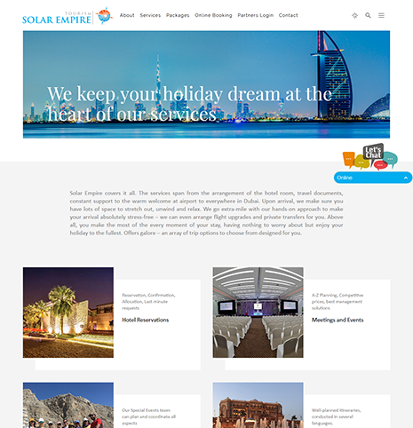 Solar Empire Tourism Dubai