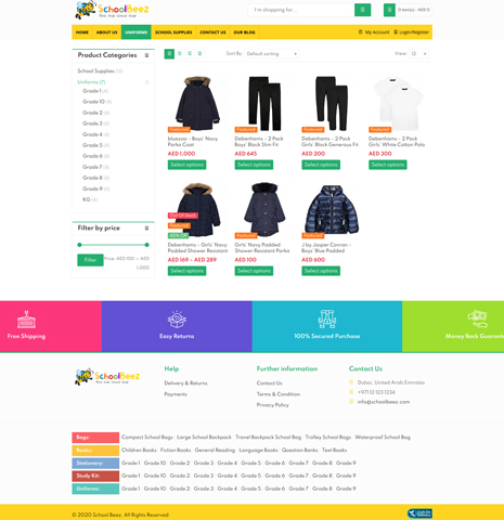 SchoolBeez – School Accessories