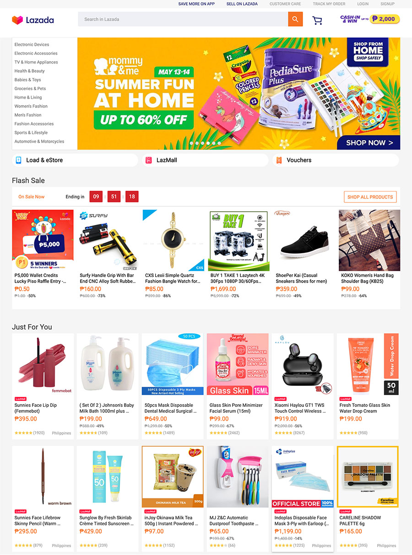 Lazada Group – B2B & B2C Online Shopping