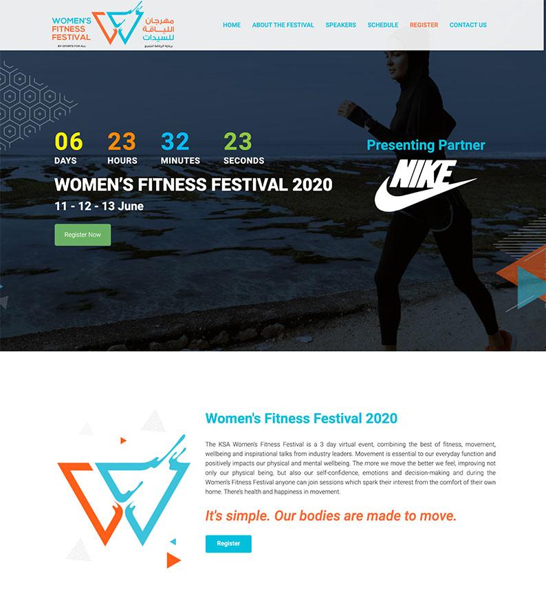 Women's Fitness Festival, Saudi Sports