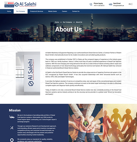 Bosch Diesel Service – Al Salehi