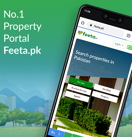 Feeta.pk – Real Estate Portal